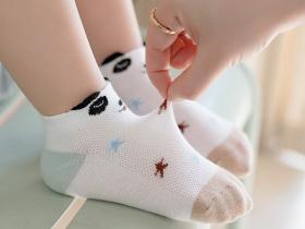 動物萌園網眼襪