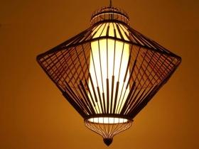 竹吊灯-竹之灯韵