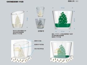 圣诞蜡烛产品及包装