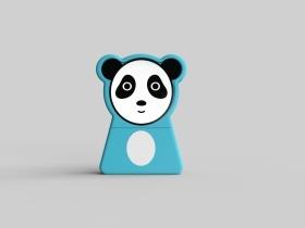 熊猫橡皮擦