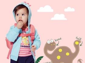 女童針織甜美恐龍套裝