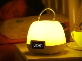 时钟小夜灯