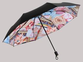 伞花型图案