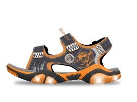 童凉鞋灯鞋设计