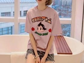 星星阿童木女T恤