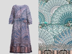 连衣裙图案花型