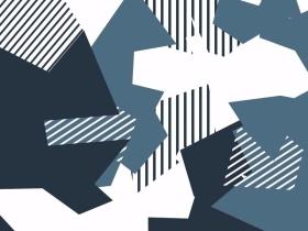 幾何童裝圖案