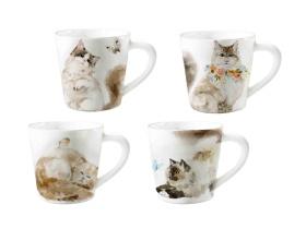 日用陶瓷水彩猫咪