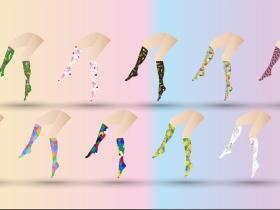中筒潮袜设计
