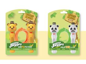 动物跳绳文创包装设计