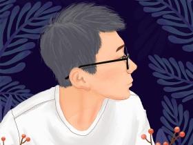 人物手绘扁平写实插画
