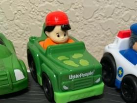 ABS塑胶卡通玩具小车
