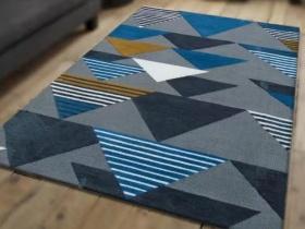 几何旋律现代简约时尚地毯