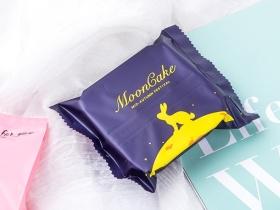 中秋月饼糖果包装袋插画设计