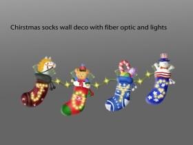 圣诞节户外光纤灯饰