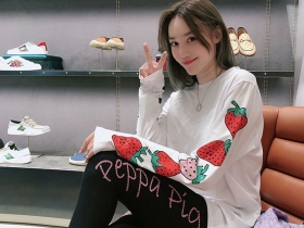 可爱大草莓T恤