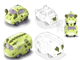 合金模型车组合