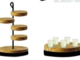 锻造桌面装饰和灯具