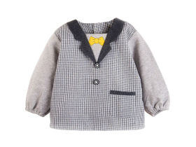 兒童韓版罩衣