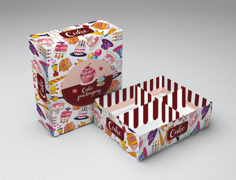 蛋糕托包装托盒
