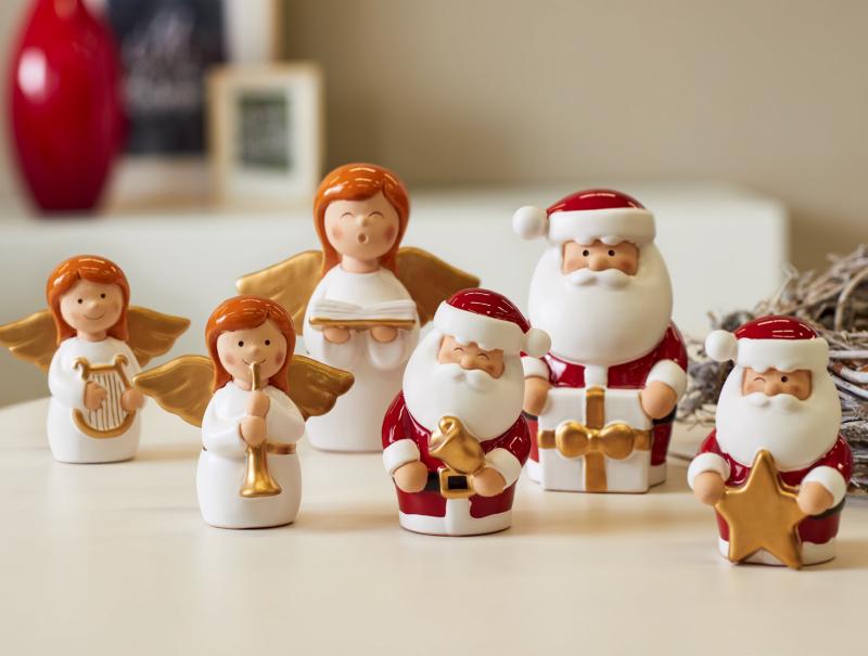 陶瓷圣诞摆件设计