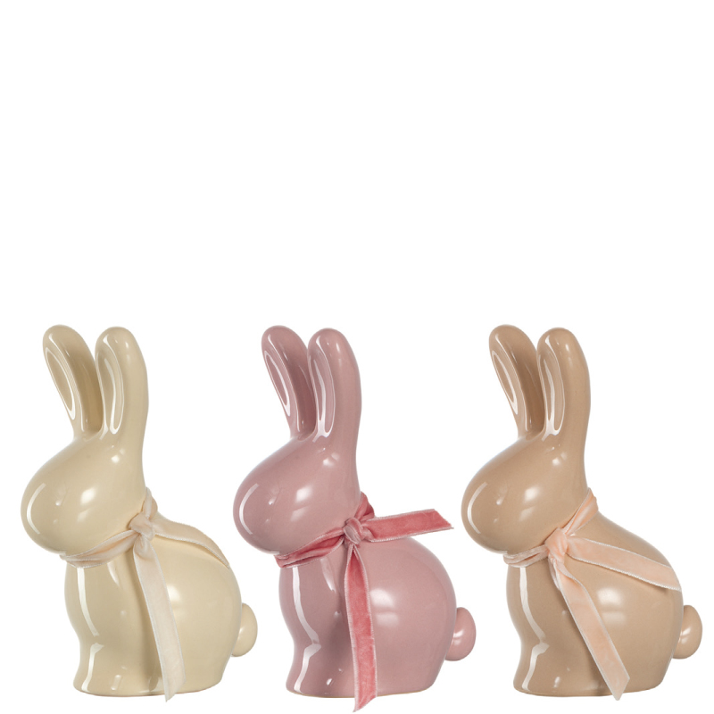 陶瓷兔子摆件