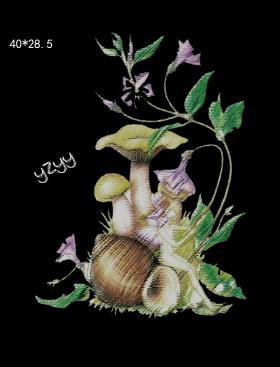 手绘花型设计