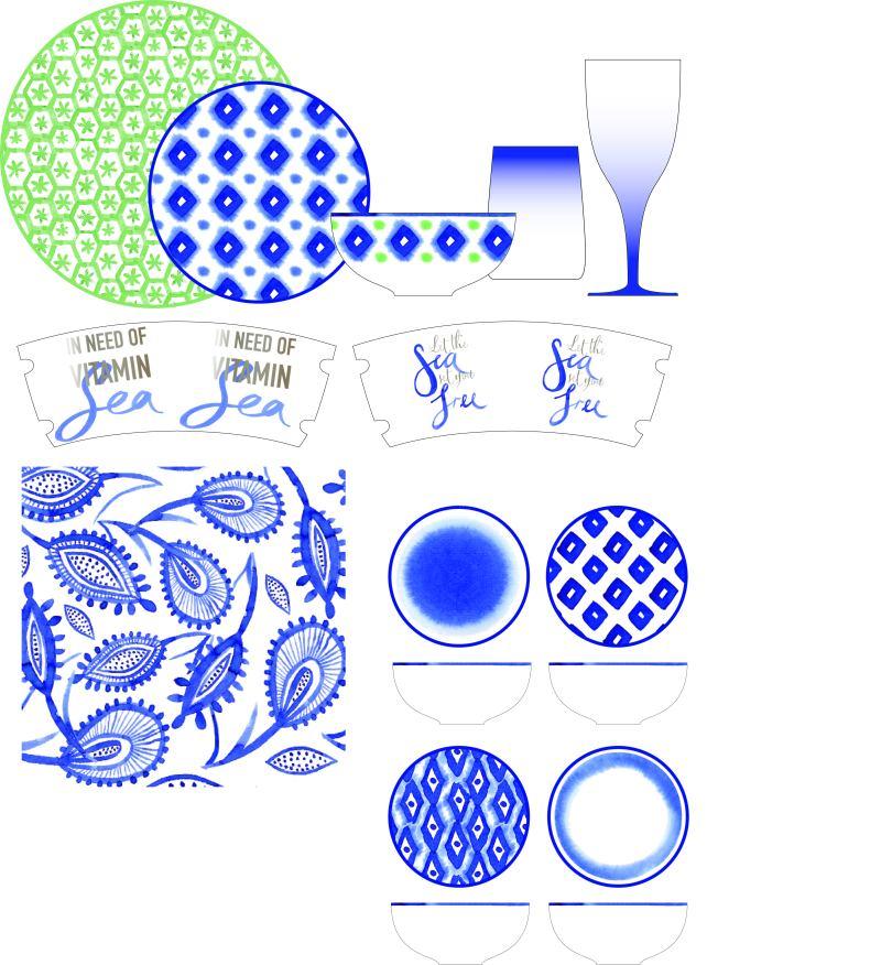 陶瓷餐具图案设计