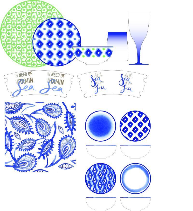 陶瓷餐具圖案設計