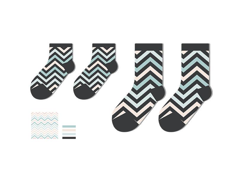 春夏襪子設計