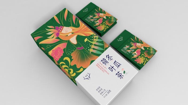 鹿蕴花茶包装