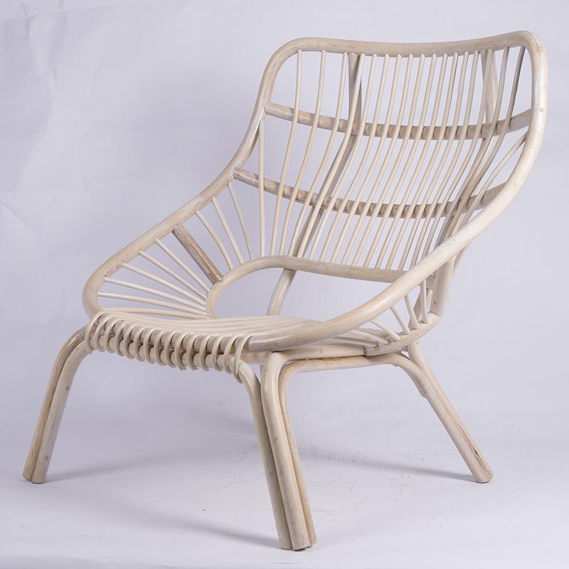 歐美藤制家具單人藤椅