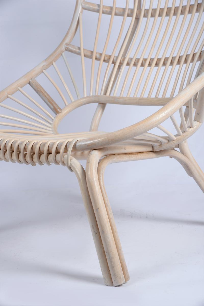 欧美藤制家具单人藤椅
