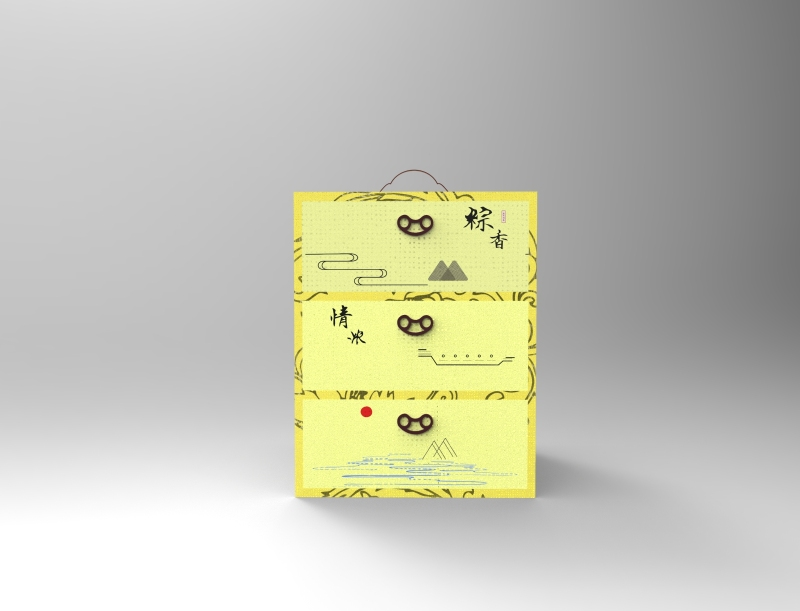 酒店粽子礼盒