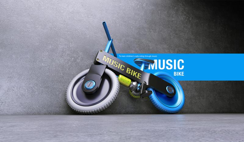 兒童電動車自行設計