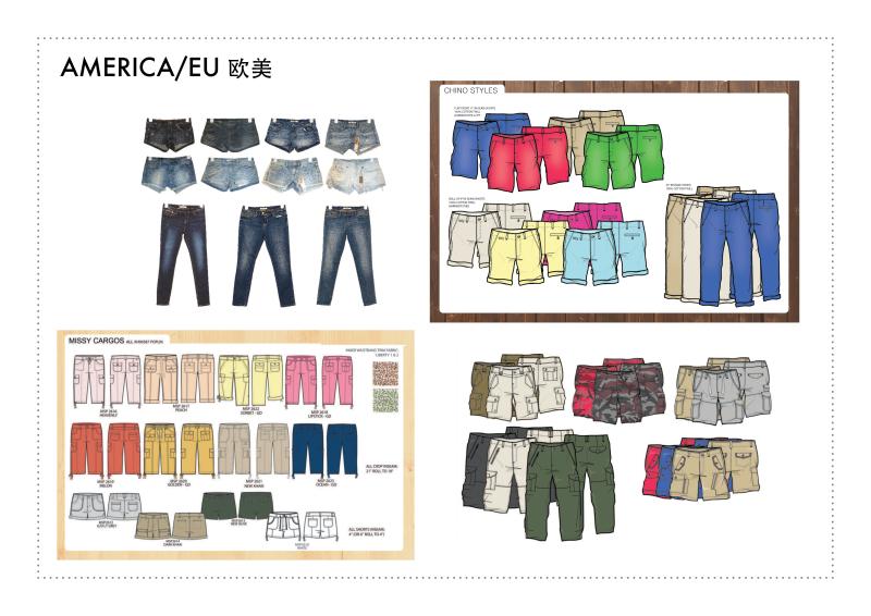 欧美市场服装设计