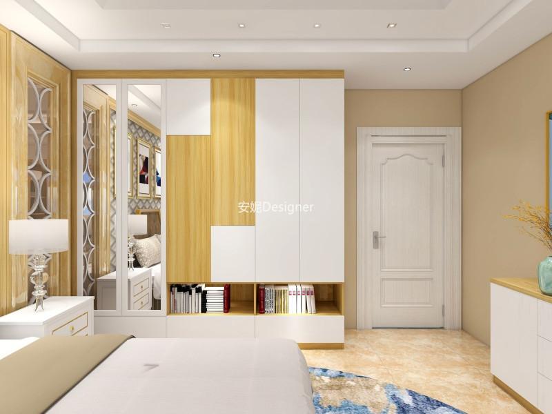 现代简约卧房
