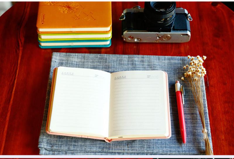 創意便攜皮筆記本