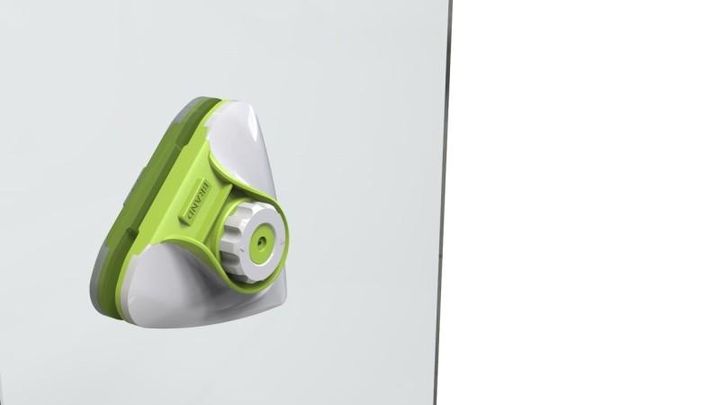 双面擦窗神器外观设计