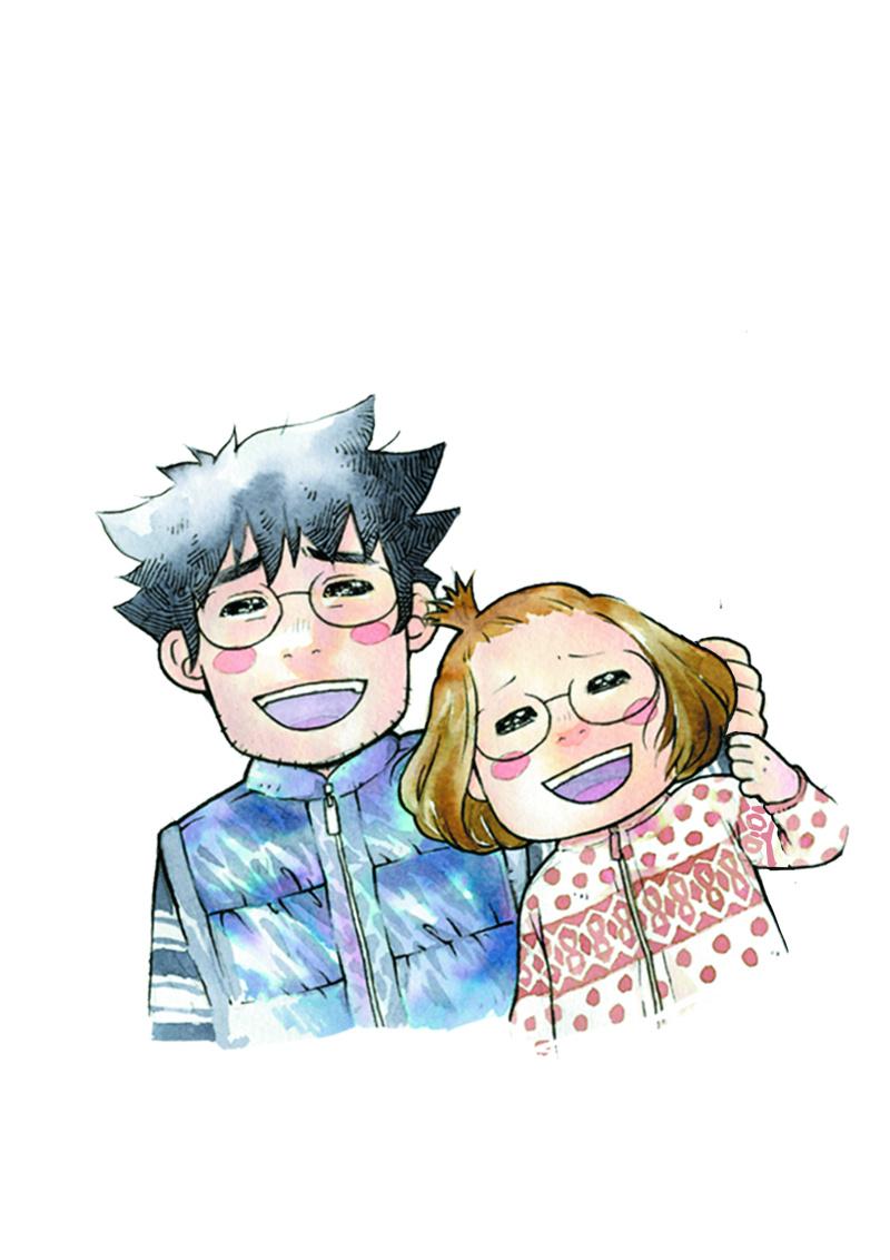 近藤夫婦插畫
