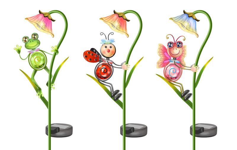春天花園動物小插枝