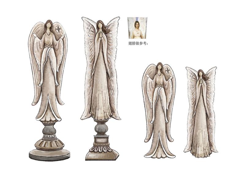 家居宗教天使