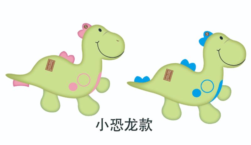 小恐龙多功能四季毯