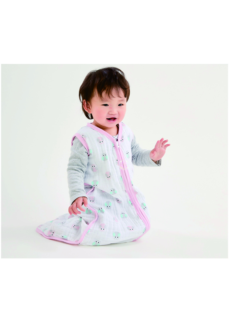嬰童紗巾女寶貓頭鷹系列