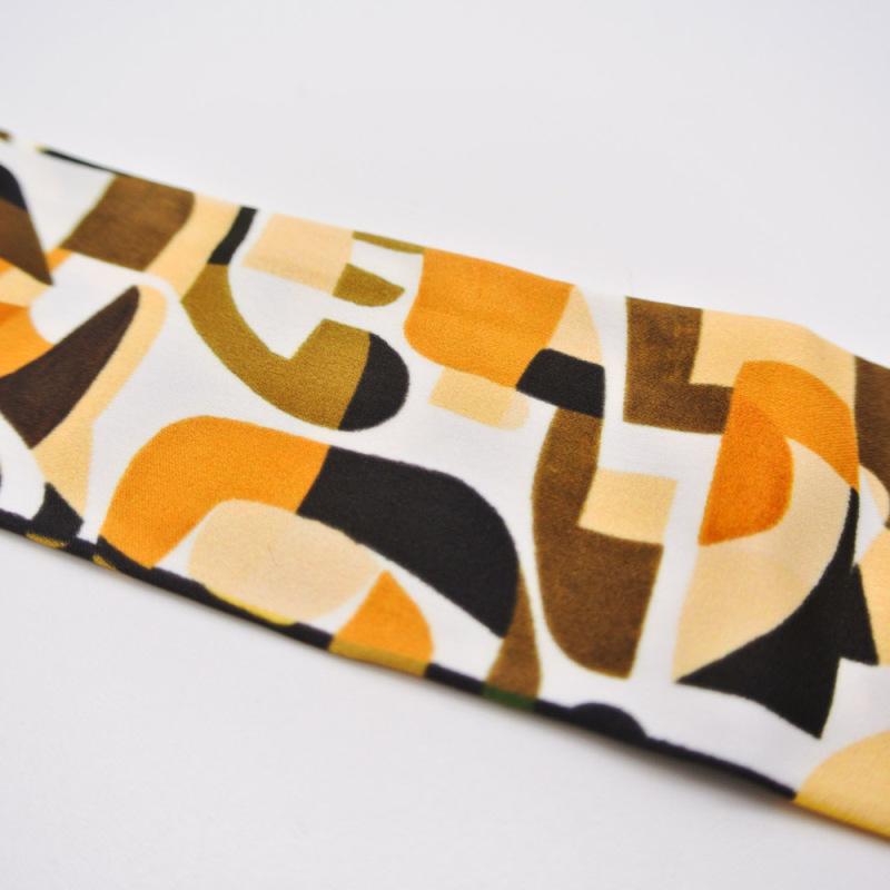 外贸原创清新丝巾头巾窄巾花型