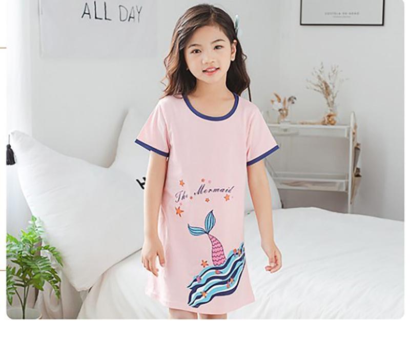 美人魚尾女童睡裙