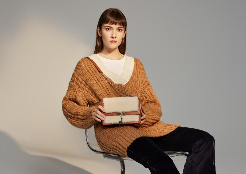 羊羔毛系列女包设计