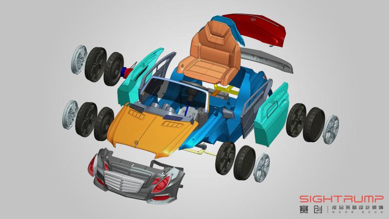 童车结构设计