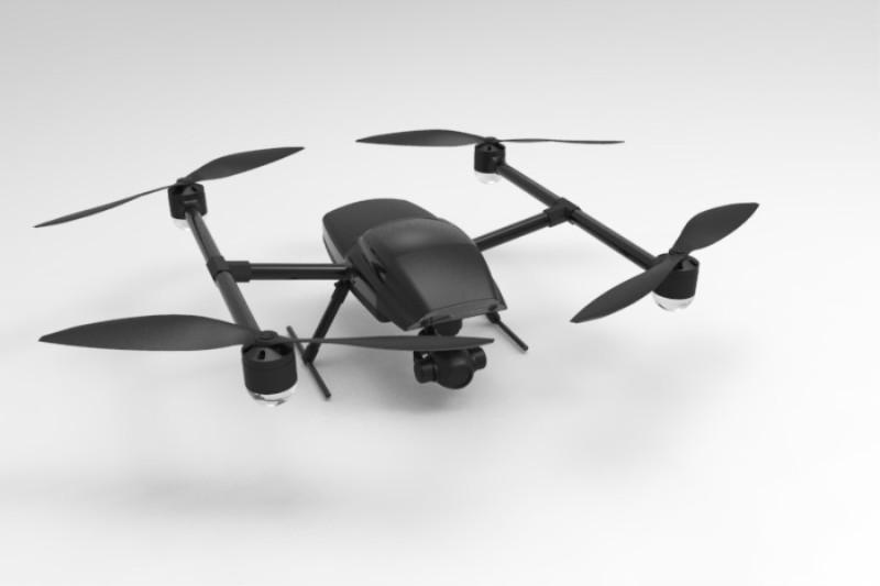工业级航拍测绘无人机