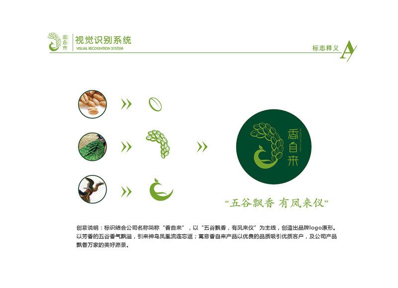 食品类品牌vi设计